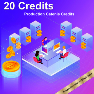20 production Catenis Credits